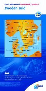 ANWB wegenkaart: Scandinavië /IJsland 7. Zweden zuid