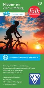 Falk VVV fietskaart 20 Midden- en Zuid-Limburg