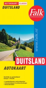 Falk autokaart Duitsland classic