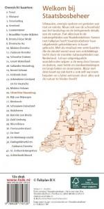 Falk Staatsbosbeheer wandel- en fietskaart 25 Utrechtse Heuvelrug 2018-2019, 11e druk met wandelroutes, fietsknooppuntennetwerk, fietspaden, ruiterpaden en mountainbikeroutes.