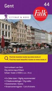 Falk citymap & more: Falk city map & more 44 Gent 1e druk recente uitgave