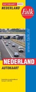 Falk autokaart Nederland basic