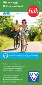 Falk VVV fietskaart 34 Westhoek