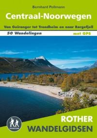 Rother wandelgids Centraal-Noorwegen door Bernhard Pollmann