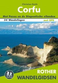 Rother wandelgids Corfu door Christian Geith