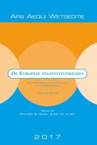 Ars Aequi Wetseditie Europese staatssteunregels  2017