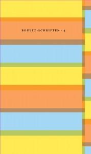 Boulez-schriften Boulez-schriften nr.4