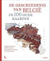 De geschiedenis van België in 100 oude kaarten