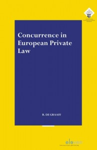 Concurrence in European Private Law door Ruben de Graaff