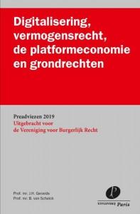 Digitalisering, vermogensrecht, de platformeconomie en grondrechten