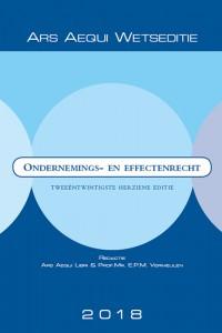 Ars Aequi Wetseditie Ondernemings- & effectenrecht 2018
