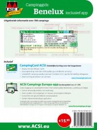 ACSI Campinggids: Benelux + app 2021